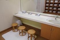 ☆新設した大浴場 洗面 2月1日よりご利用頂けます。