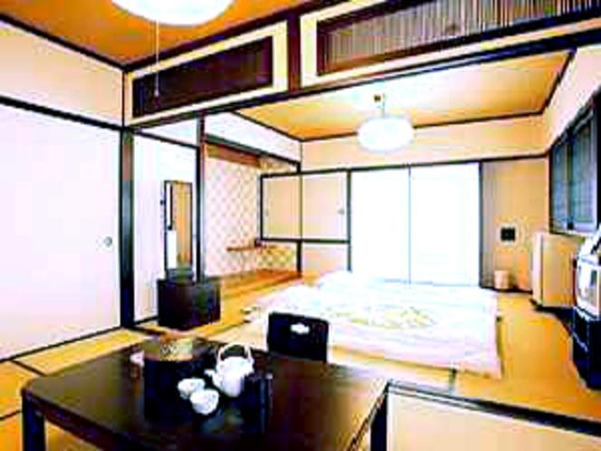 和室14畳 最上階の静かなお部屋 お二人の隠れ家に!