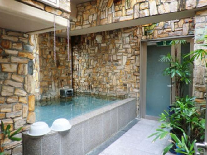 男性浴場(露天)