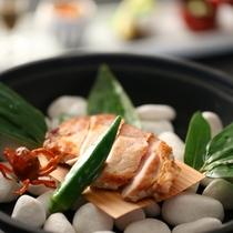 ■【夏・セットメニューの一品】見ても楽しいお料理が並びます
