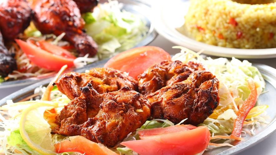 【エスニック料理】『エスニックレストランかもしか』のチキンチカ。柔らかいお肉
