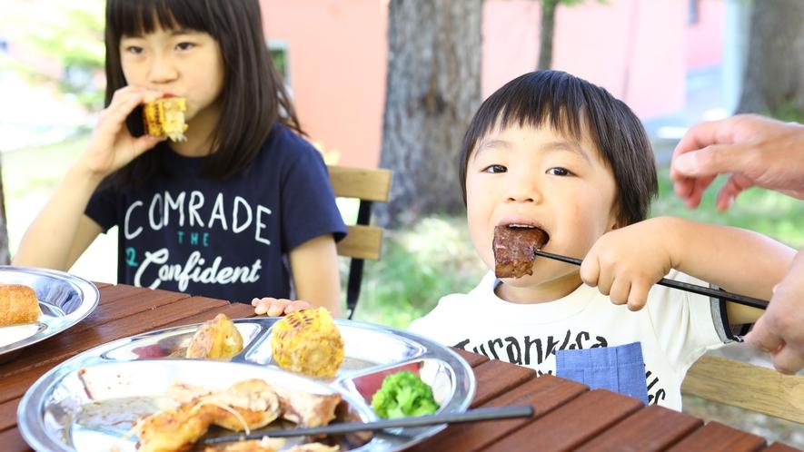【夏・BBQ】子供もかぶりつく美味しさ!