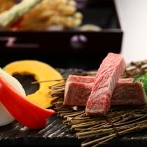 ■【9月連休特別『肉』プラン】ステーキ一例。りんごで育った信州牛は一度味わったらやみつきです!