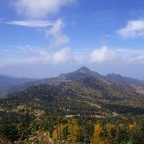 ■【秋】紅葉(横手山から笠ヶ岳)