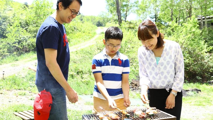 【夏・BBQ】ご家族の夏の思い出に