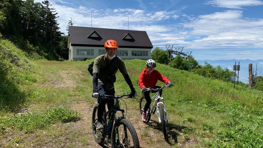 【マウンテンサイクリングツアー】志賀高原の大自然をかけぬけよう