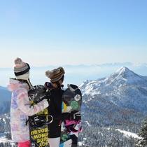 ■【冬】頂上からの景色