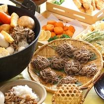 ■【夕食バイキング】信州ならでは。とうじそばの日も