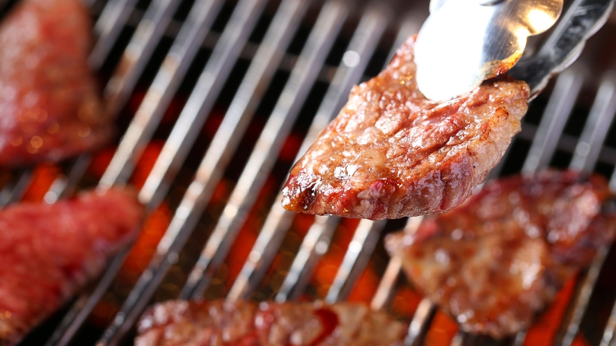 【焼肉】『焼肉おてんま』お好みの焼き加減でお召し上がりください