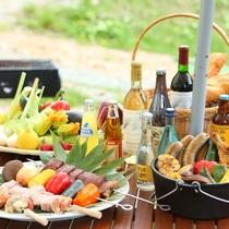 ■【夏・BBQ】夏はBBQ会場も。