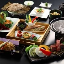 ■【9月連休特別『肉』プラン】ステーキ御膳。メインは信州牛のステーキ。贅沢な御膳です。