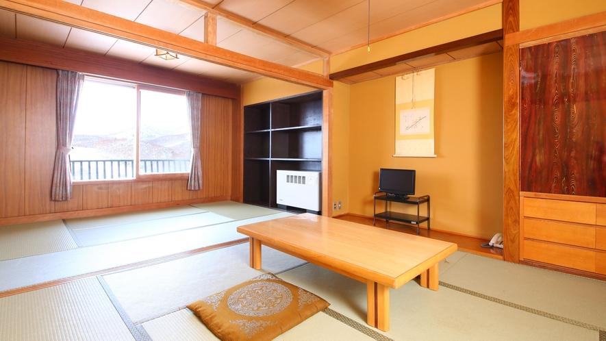 【らいちょう館■和室14畳】広々とした和室。ファミリー・グループにも◎