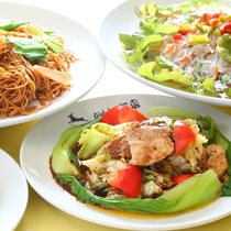 ■【夕食バイキング】中華をもりもり!お腹いっぱい!