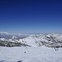 ■【冬】広大な志賀高原のスキー場