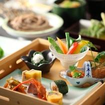■【6月・セットメニュー】色とりどりのお料理で見ても楽しい♪