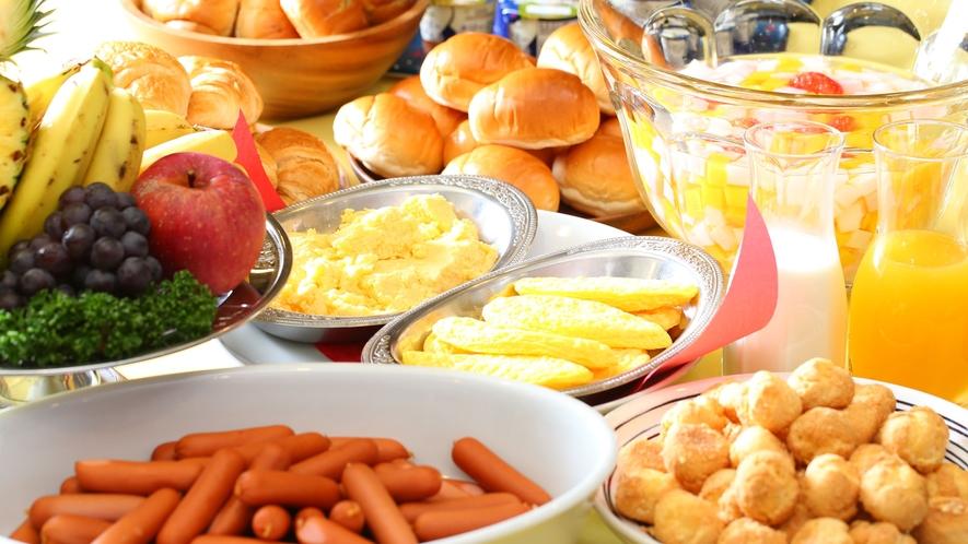 【朝食バイキング】自分なりのお好きな朝食を