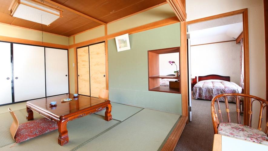 【らいちょう館■最上階和洋室】ゆったり寛げるお部屋です