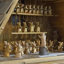 ■ネズミのオーケストラ。様々な音楽人形を探してみてくださいね。