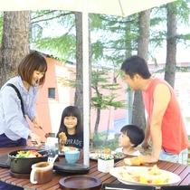 ■【夏・BBQ】外で食べると気持ちが良いね♪