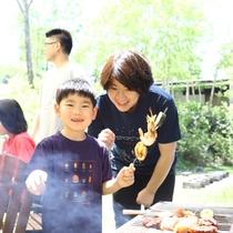 ■【夏・BBQ】上手に焼けたよー♪