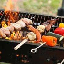 ■【夏・BBQ】豪快に焼いて。盛り上がります!