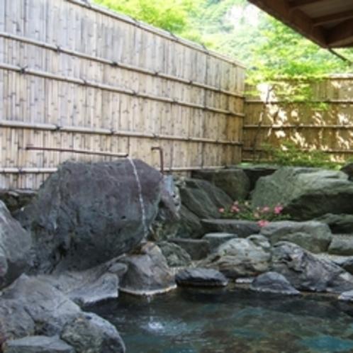 露天風呂(うたせ岩風呂)