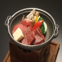 福島・米沢牛食べ比べ陶板焼き