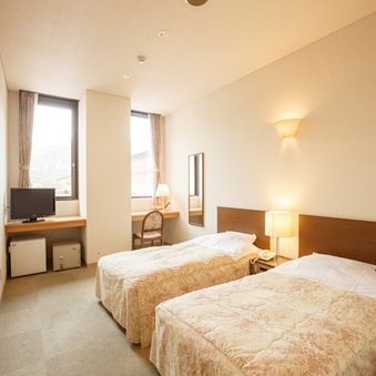 【ホテルさつき】洋室/ツインベッドルーム