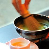 【別邸楓】お抹茶とお付き菓子