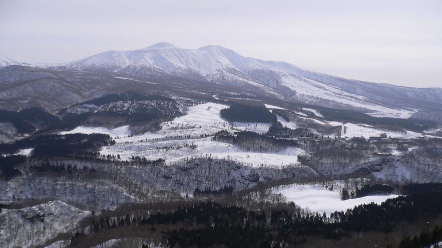 秋田駒ケ岳(冬)
