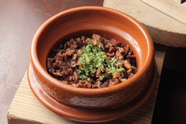 穴子の釜炊きご飯