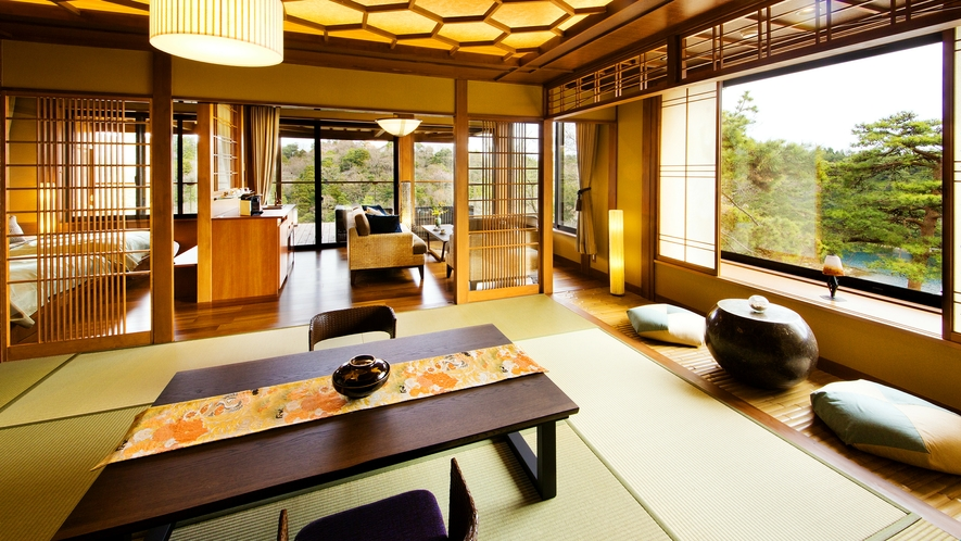 ■100RAKU suite 百楽スイート-宝珠-3■(70㎡)