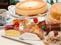 カフェ メニュー一例 ケーキ
