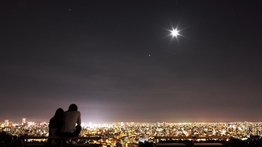 旭山記念公園夜