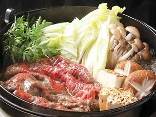 【レジャー2食付】◆青森県産牛すき焼きプラン◆十和田名産馬刺し付◆美肌天然温泉