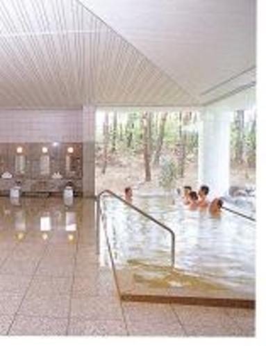 近くの公営温泉天女の湯