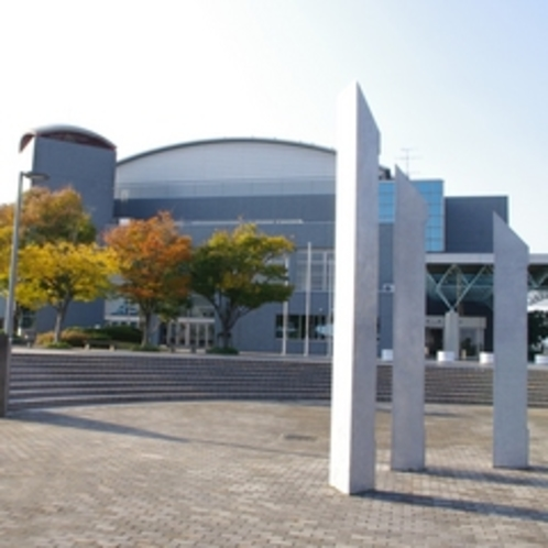 焼津市大井川文化会館ミュージアム【ホテルより車で15分】