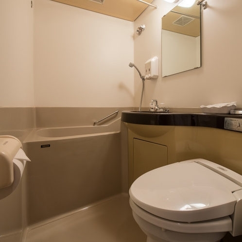 シングルルーム(バスルーム1)