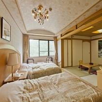 【客室】本館和洋室