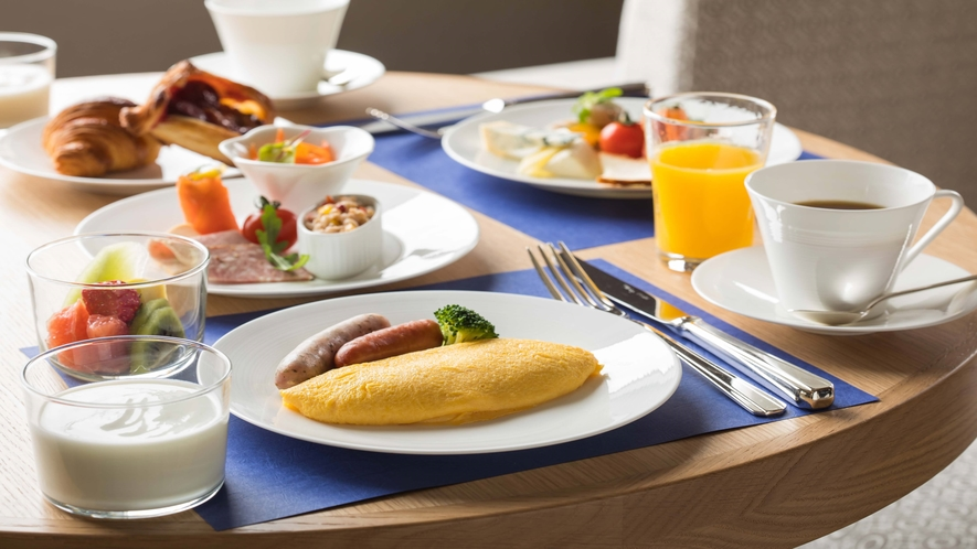 エグゼクティブラウンジ 朝食ブッフェ イメージ