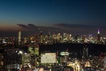 新宿副都心方面 夜景