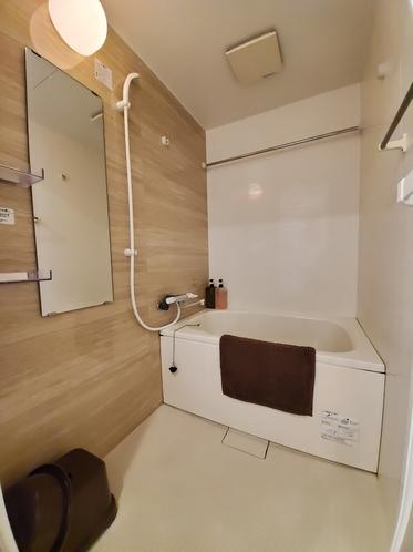 アパートメント2シングル禁煙バスルーム