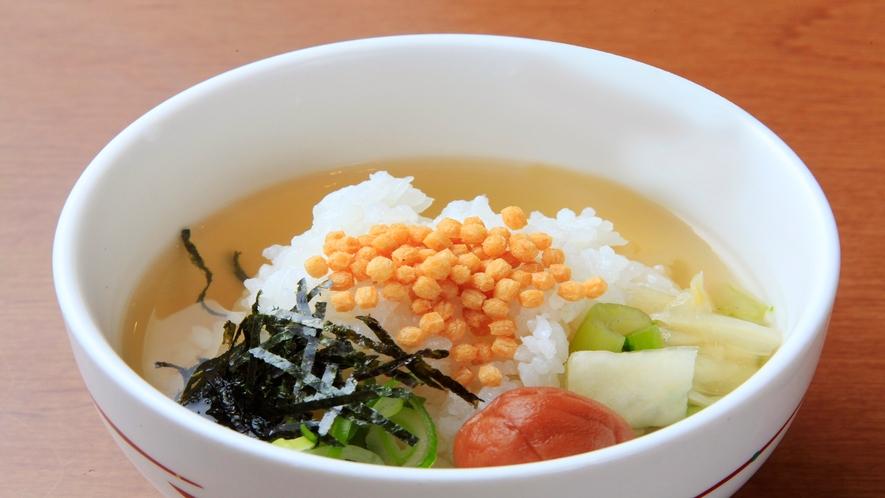 【朝食】お茶漬け