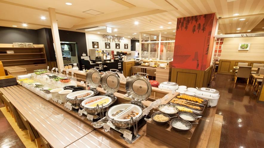 【朝食会場】ホテル1階『カフェレストラン・ガスト』