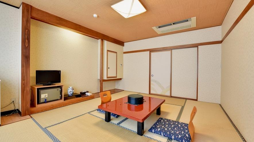 *【和室8畳】静かな環境で、朝までぐっすりとお休みください。