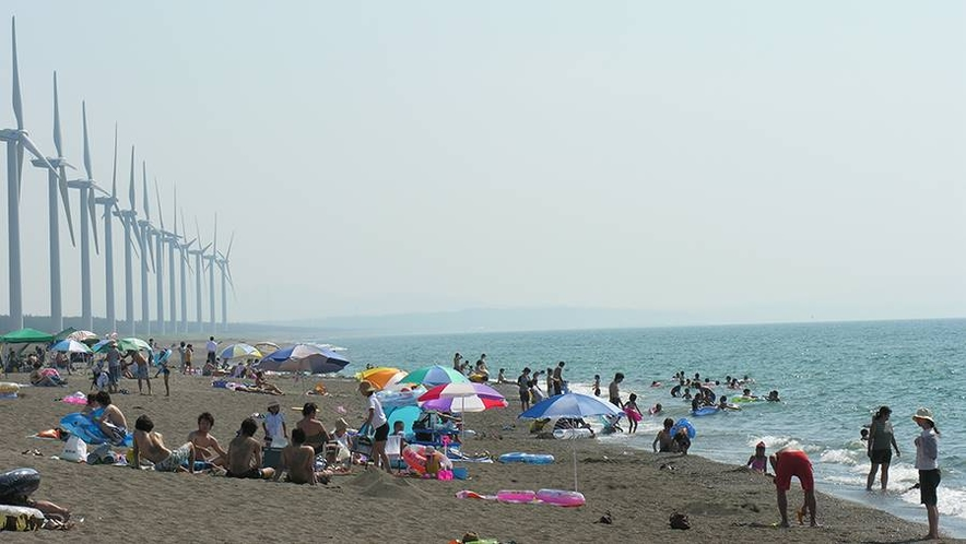 *周辺観光/釜谷浜海水浴場