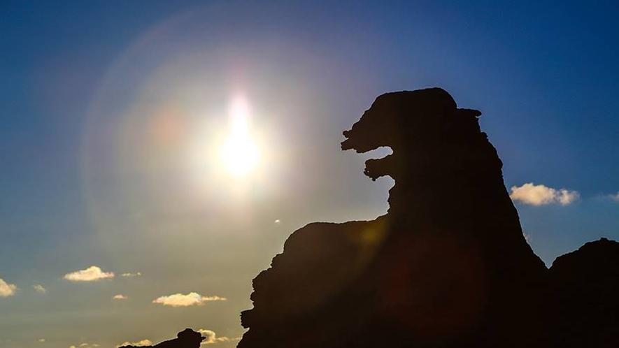 *周辺観光/ゴジラ岩