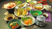 ■【夕食一例】スタンダード 夏①