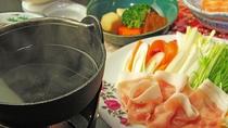 ■【夕食一例単品】 美豚しゃぶしゃぶ⑤