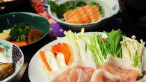 ■【夕食一例単品】 美豚しゃぶしゃぶ③